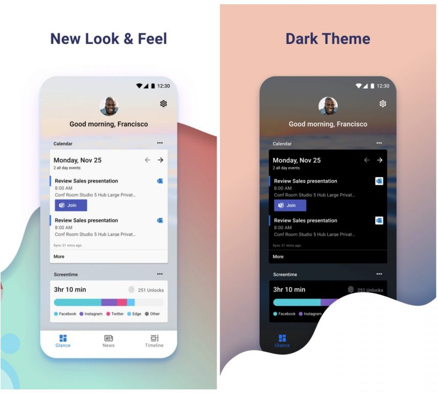Microsoft launcher v6 is out with landscape mode and performance improvements - onmsft. Com - july 15, 2020