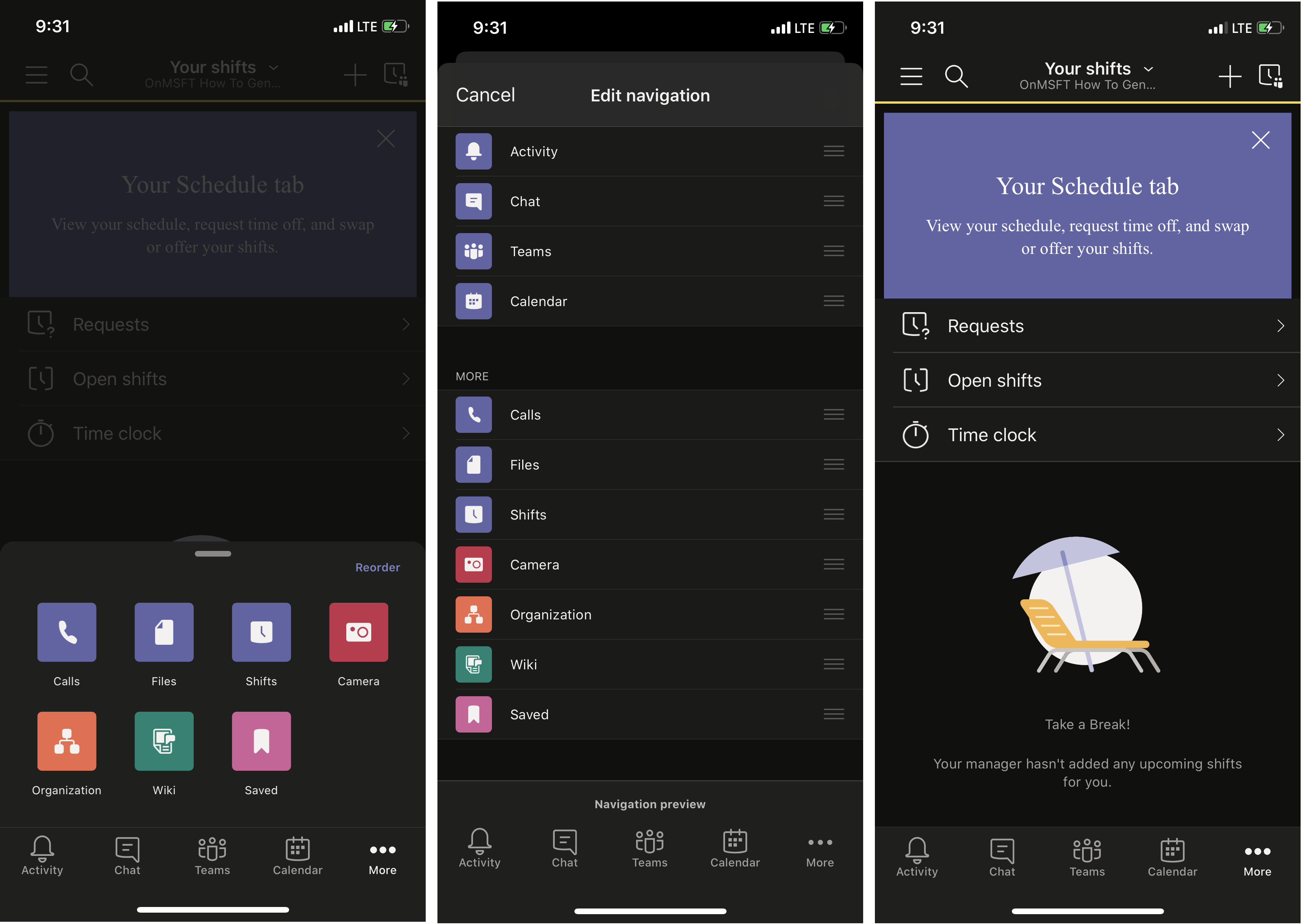 How to use the time clock in shifts in teams on ios and android - onmsft. Com - july 29, 2020
