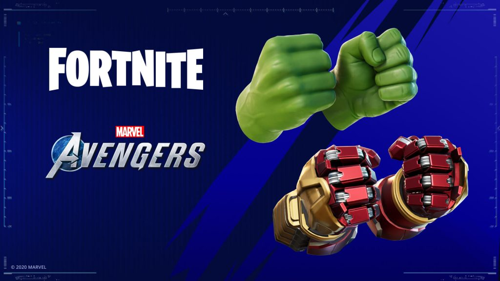 Avengers Fortnite items.