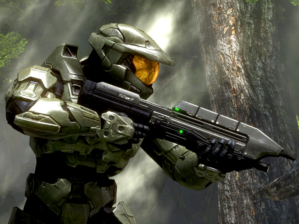 Halo 3 video game on xbox 360, xbox one, and windows 10
