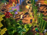 Minecraft dungeons: jungle awakens video game on xbox one and windows 10.