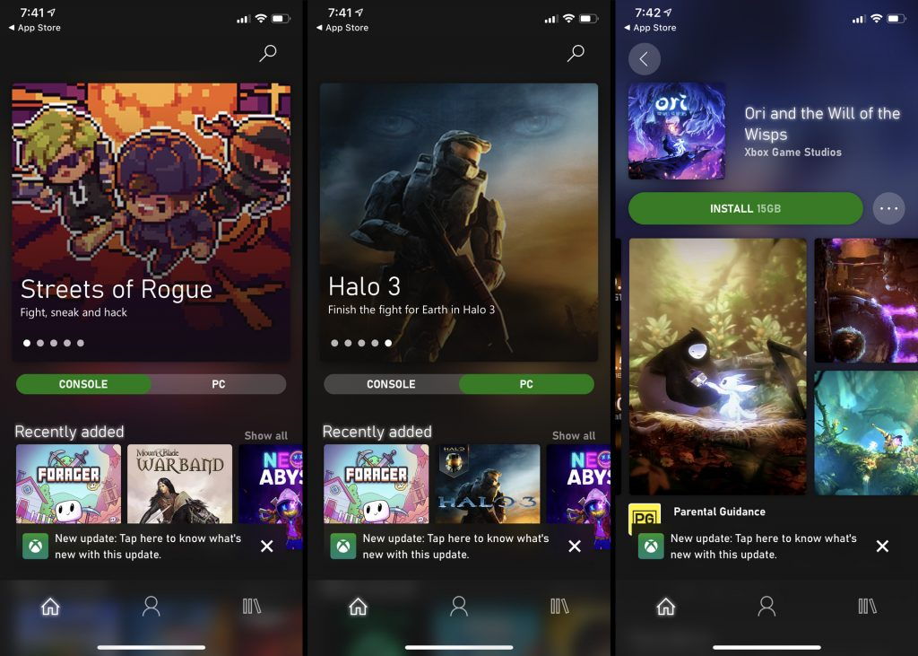 Xbox Game Pass Apps