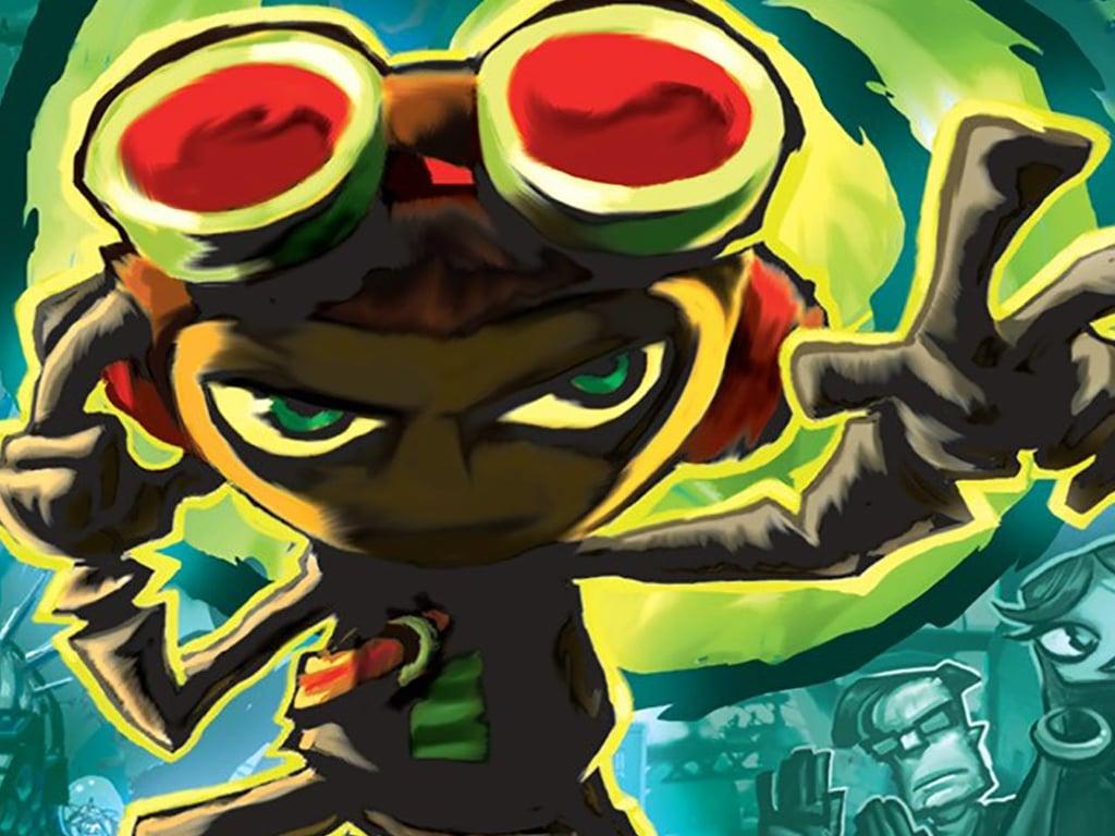 Psychonauts video game on Xbox One