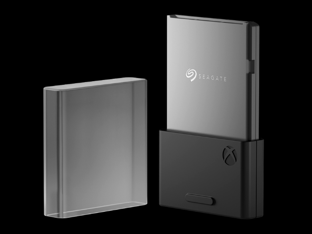 Seagate's storage expansion card for the xbox series x