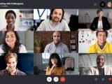 Skype grid view