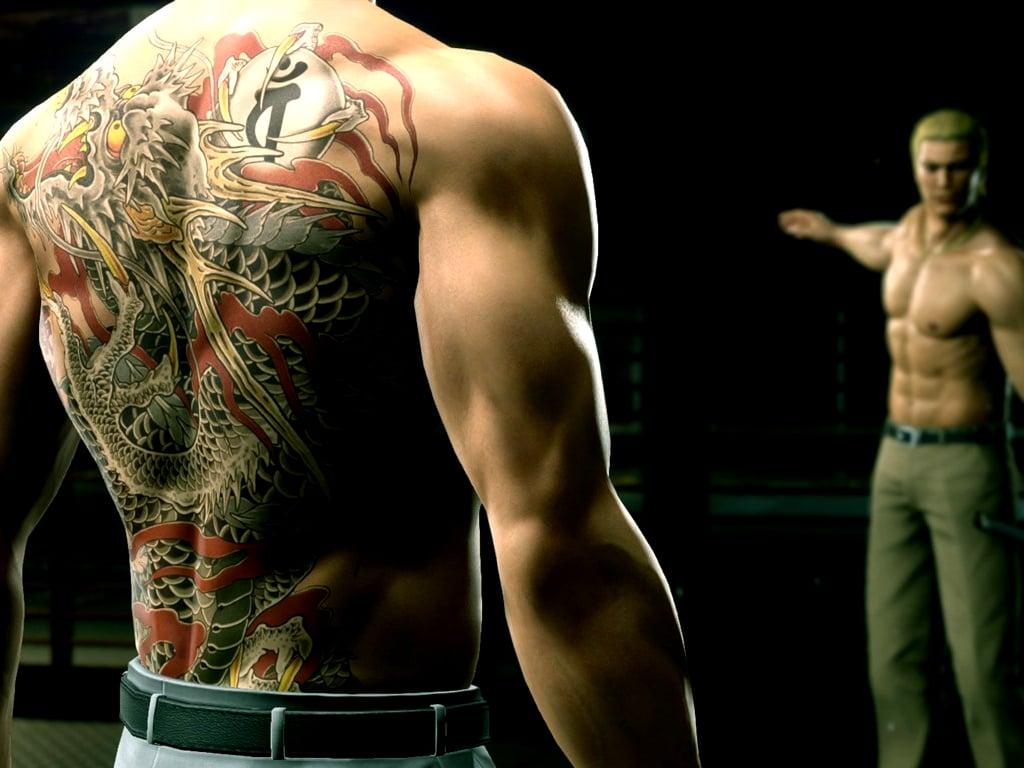 Yakuza Kiwami 2 video game on Xbox One