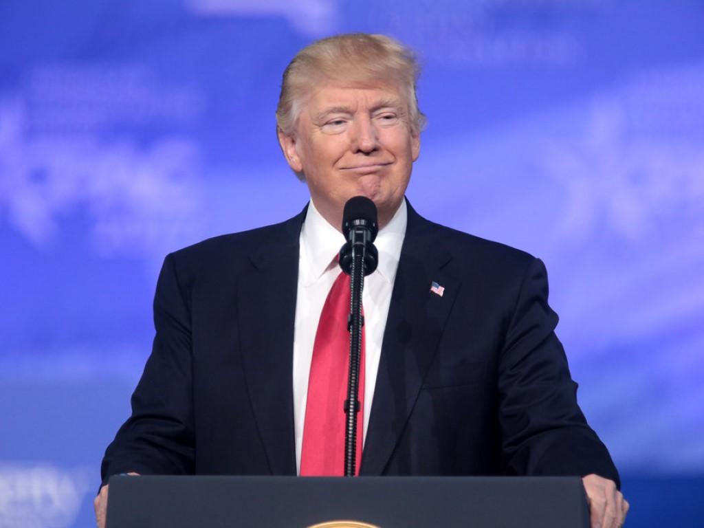 Donald Trump Smug 1