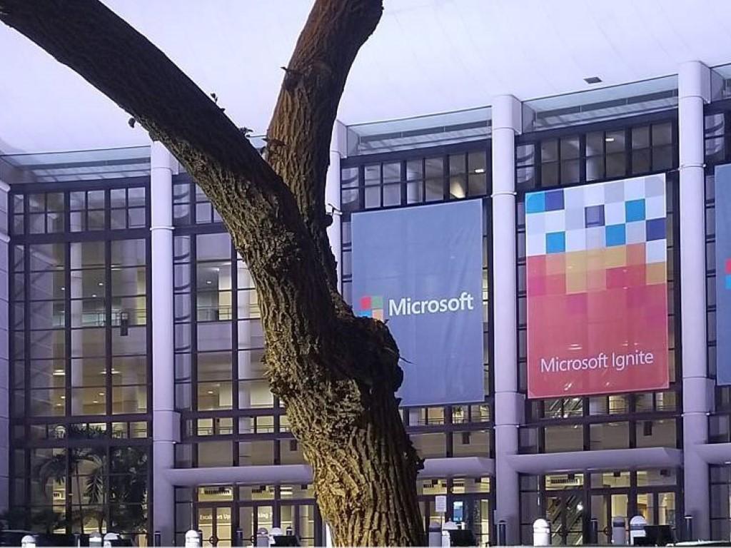 Microsoft Ignite banners