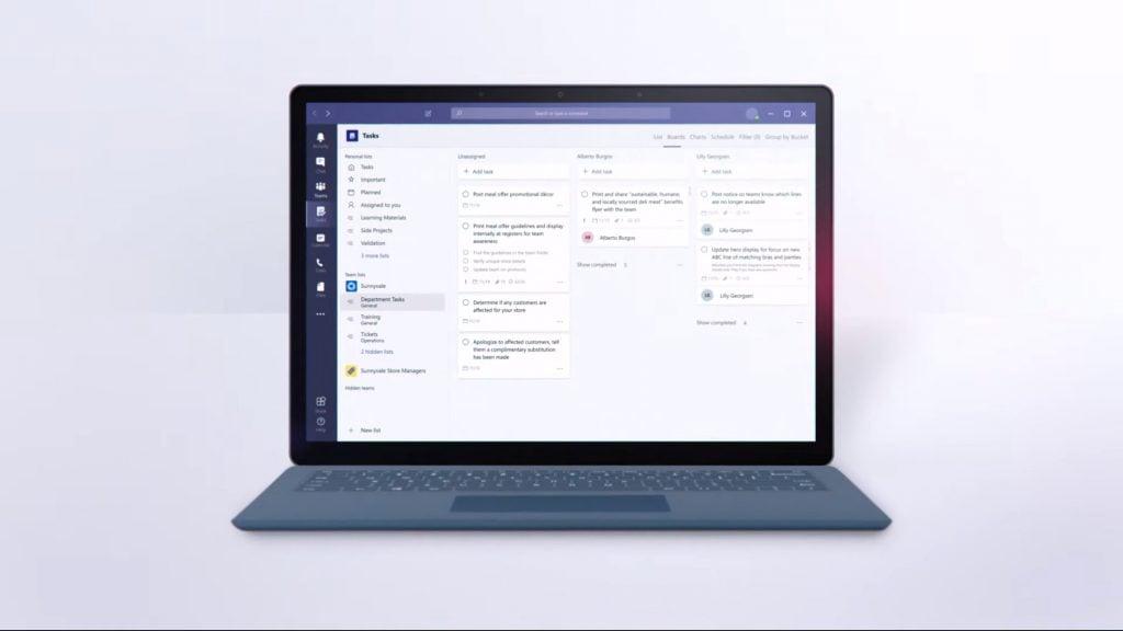 Microsoft Tasks App Microsoft Teams