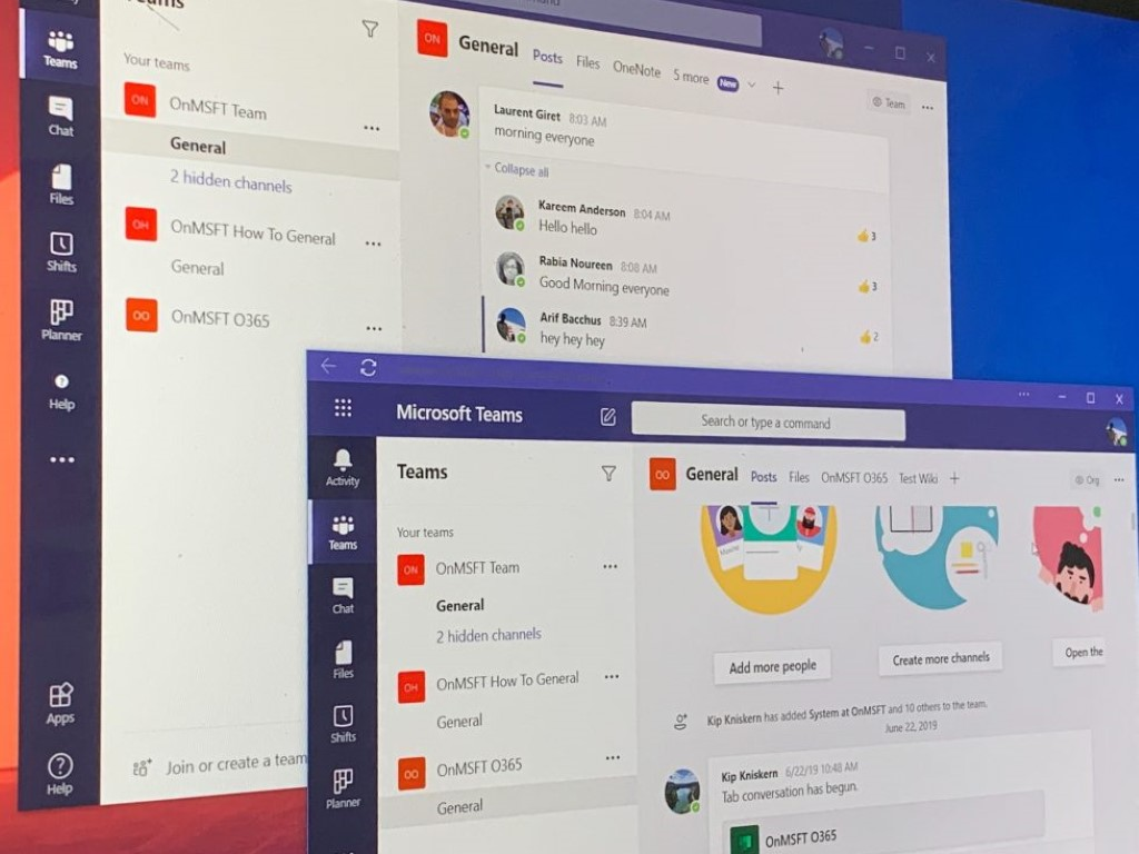 Microsoft Teams Multiple Channels Pwa (custom)