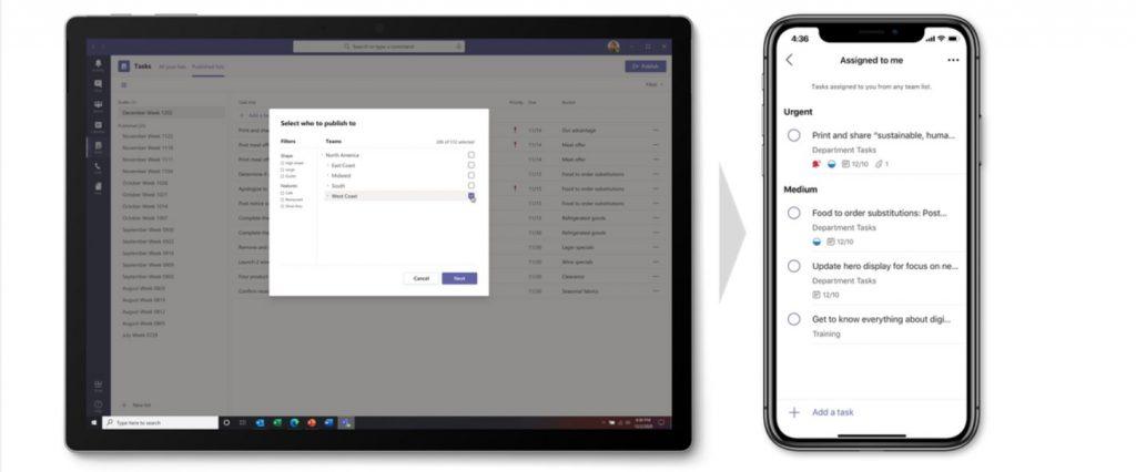 Tasks App Teams Mobile