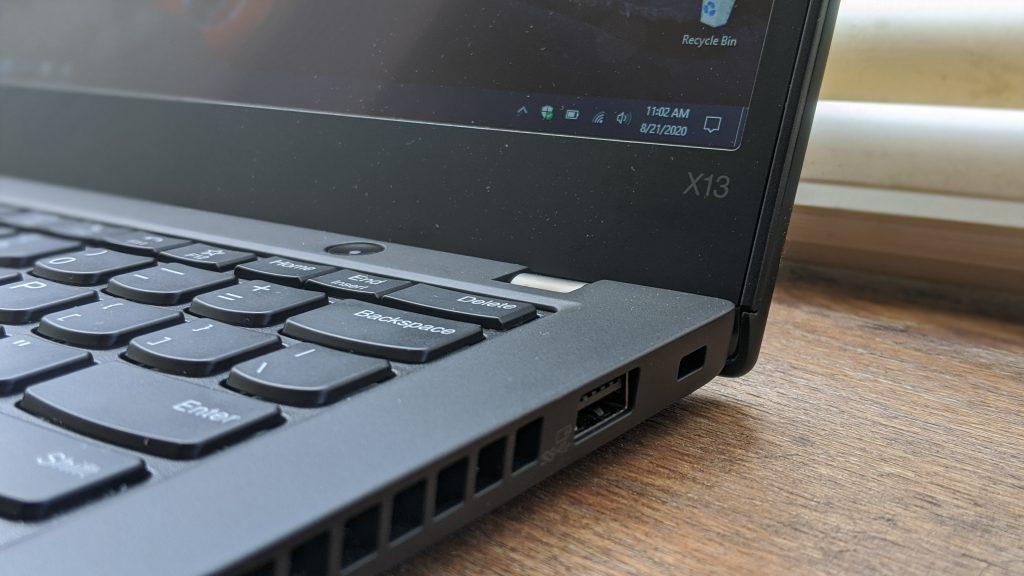 Thinkpad X13 Ports Right