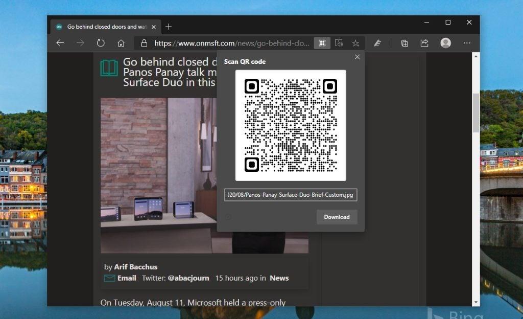 Generate Qr Image Microsoft Edge (1024x768)