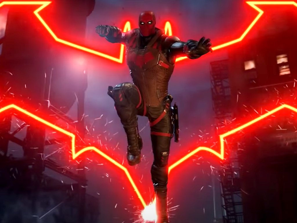 Gotham Knights video game on Xbox One and Xbox Series X consoles.