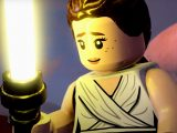 Rey skywalker in lego star wars: the skywalker saga