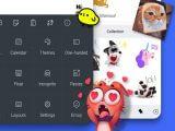 Microsoft SwiftKey Keyboard app on iOS and Android.