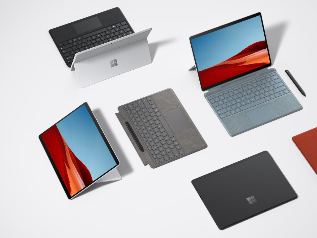 New Surface Pro X Platinum