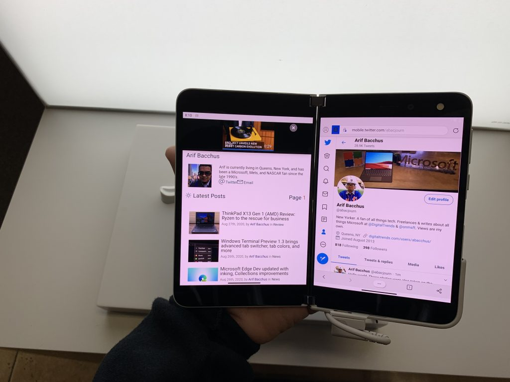 Surface Duo Dual Screen Apps