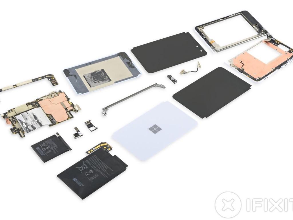 Surface Duo Teardown