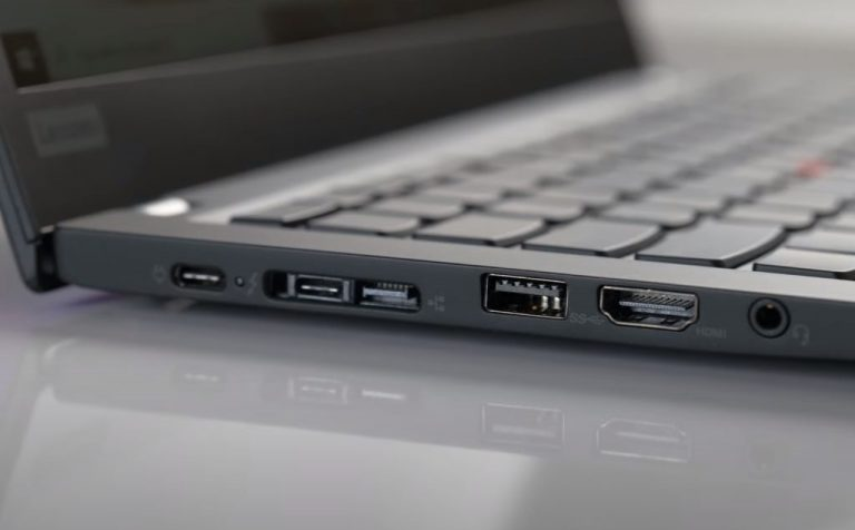Thinkpad T14s Port View