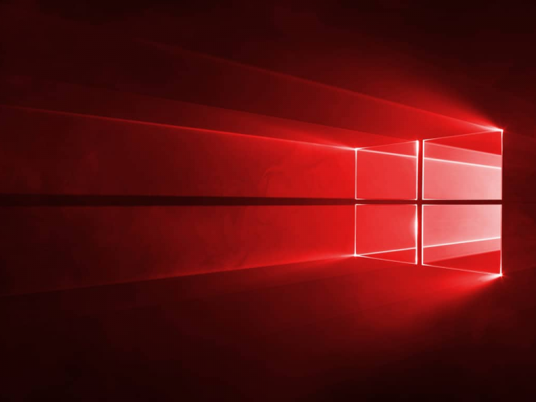 Windows 10 Hero Wallpaper In Red