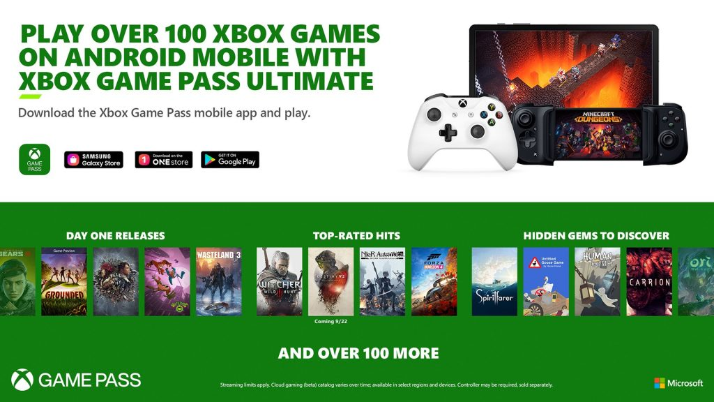 Cloud Gaming Xbox Game Pass Ultimate