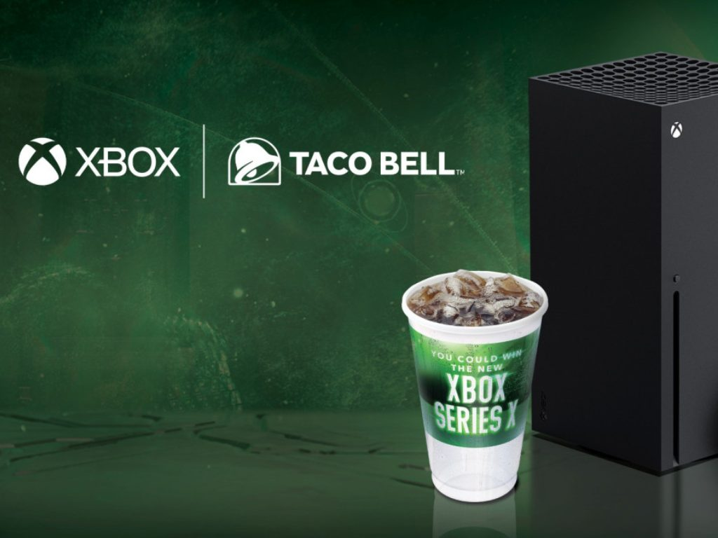 Xbox Series X Taco Bell Promotion
