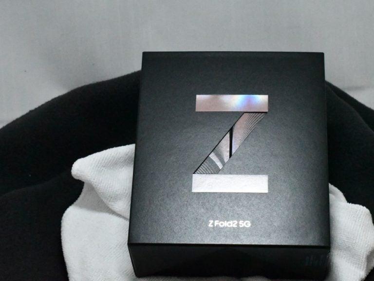 Z Fold 2 Box