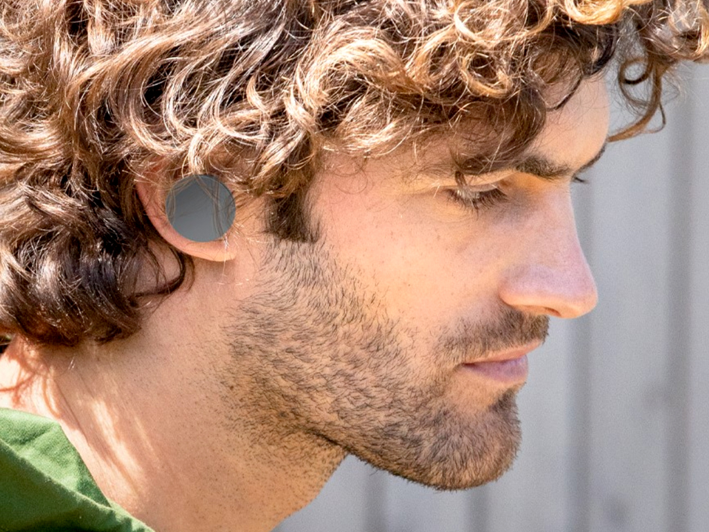 Graphite Surface Earbuds
