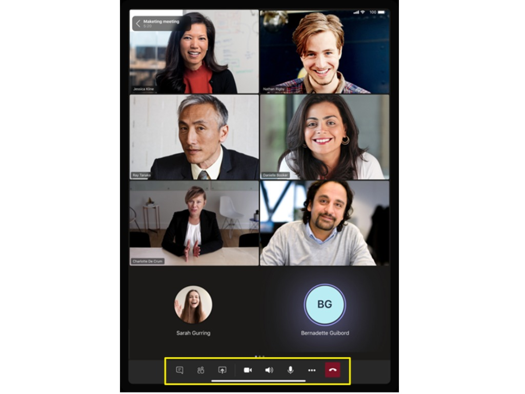 Microsoft Teams Floating Call Controls