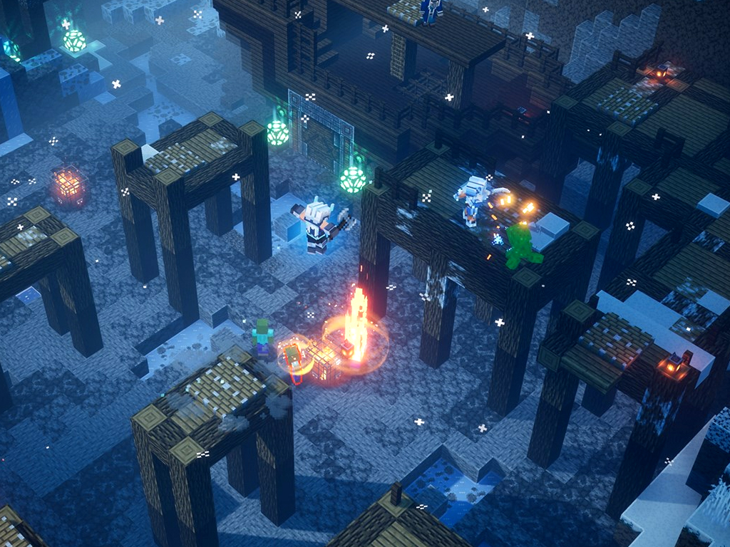 Minecraft Dungeons: Creeping Winter on Xbox One and Windows 10