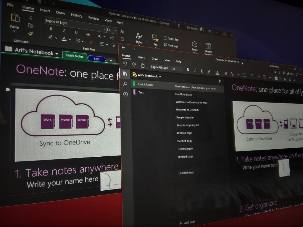 Onenote Vs Onenote 2016 2jpg (custom)