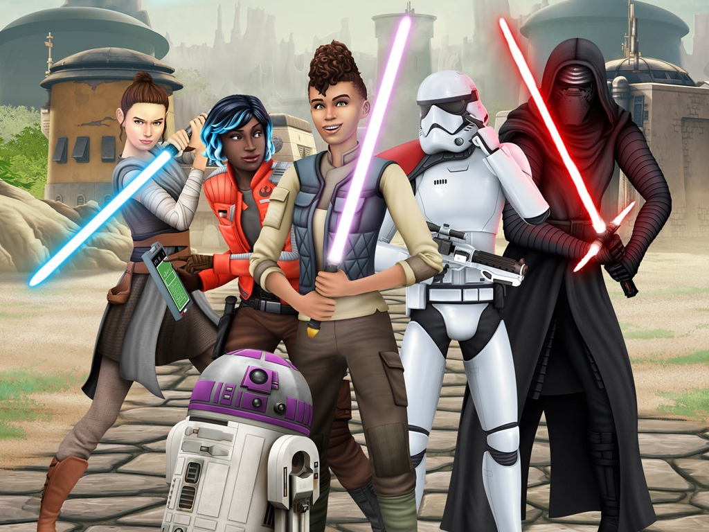 Star Wars: Journey to Batuu Game Pack for the The Sims 4 video game