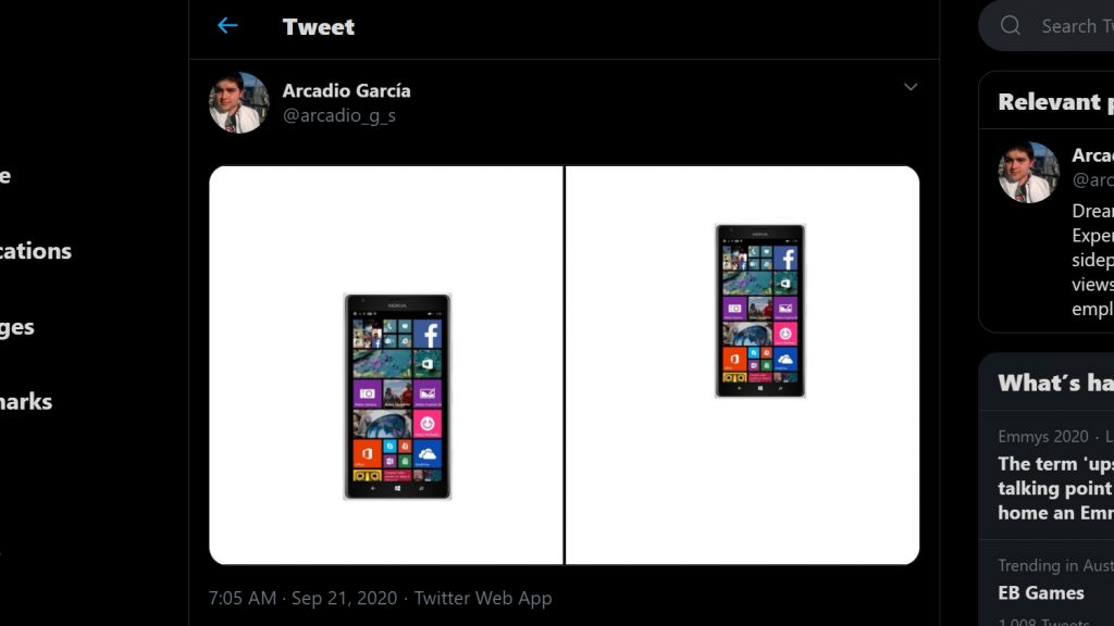 Windows phone on Twitter.