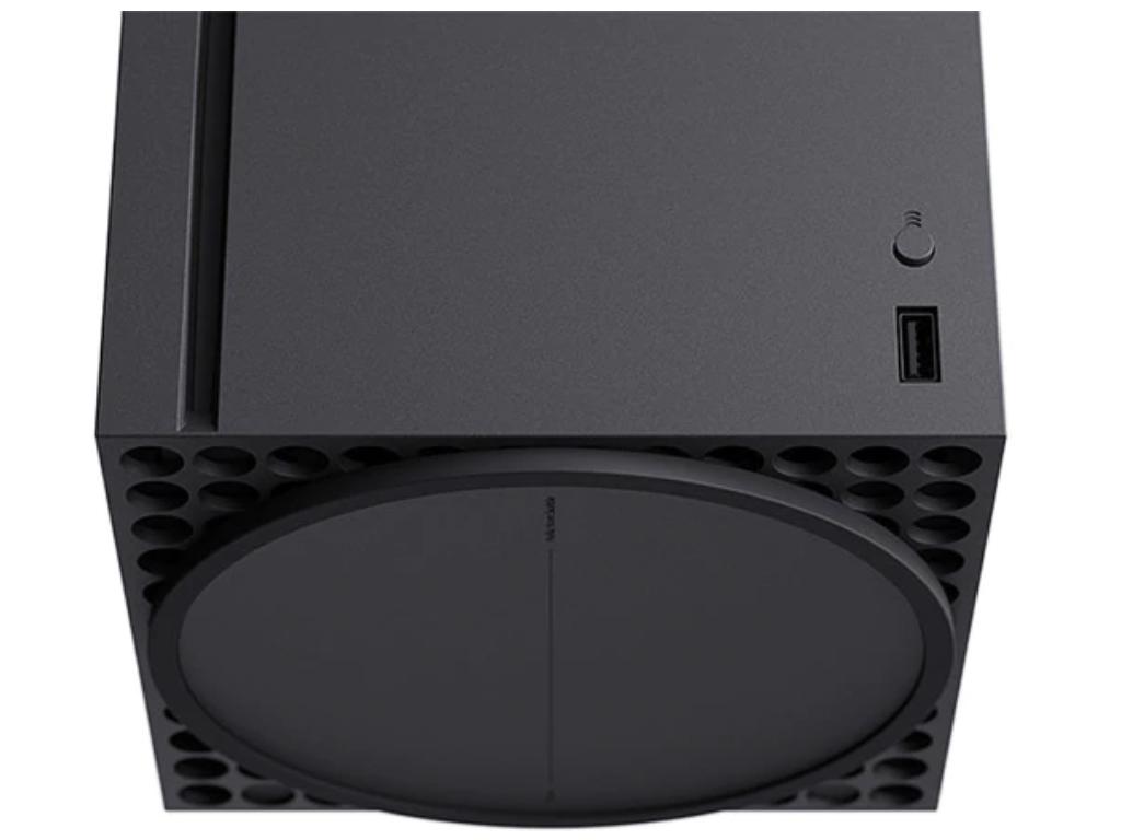 Xbox Series X bottom.