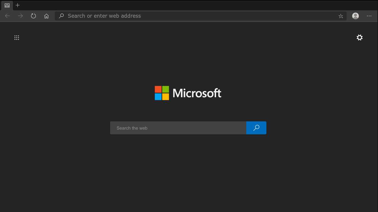 Screenshot of Microsoft Edge Dev on Linux