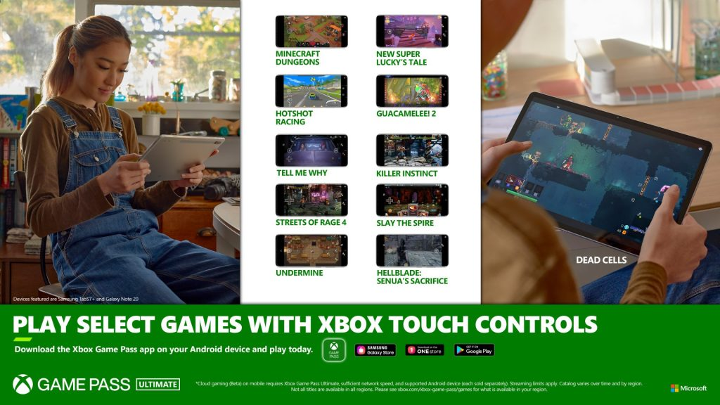 Cloud gaming Touch Controls