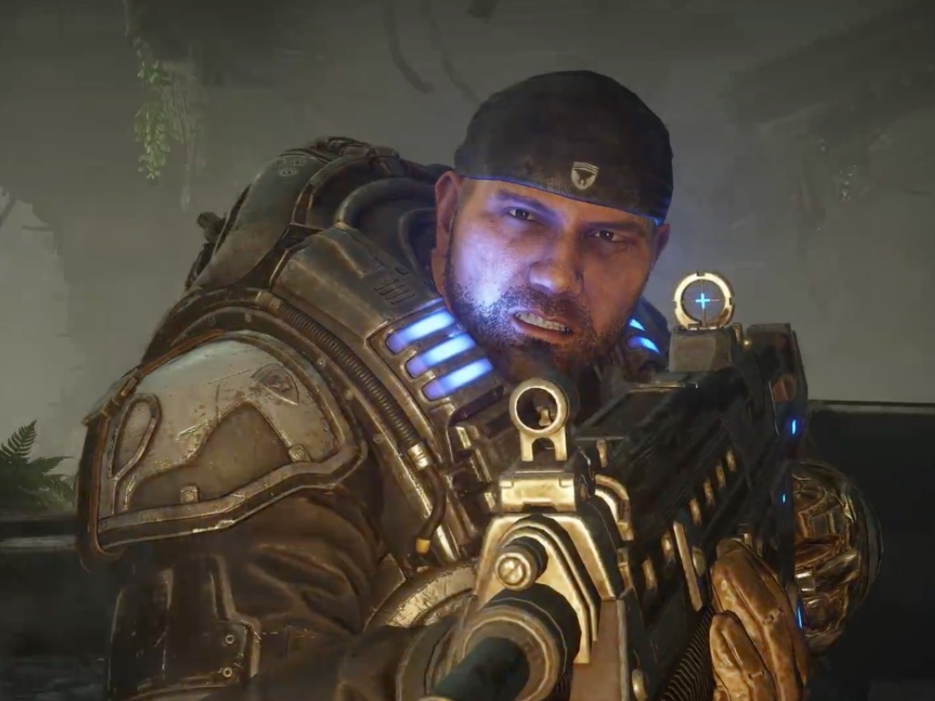 Dave Bautista In Gears 5 Campaign