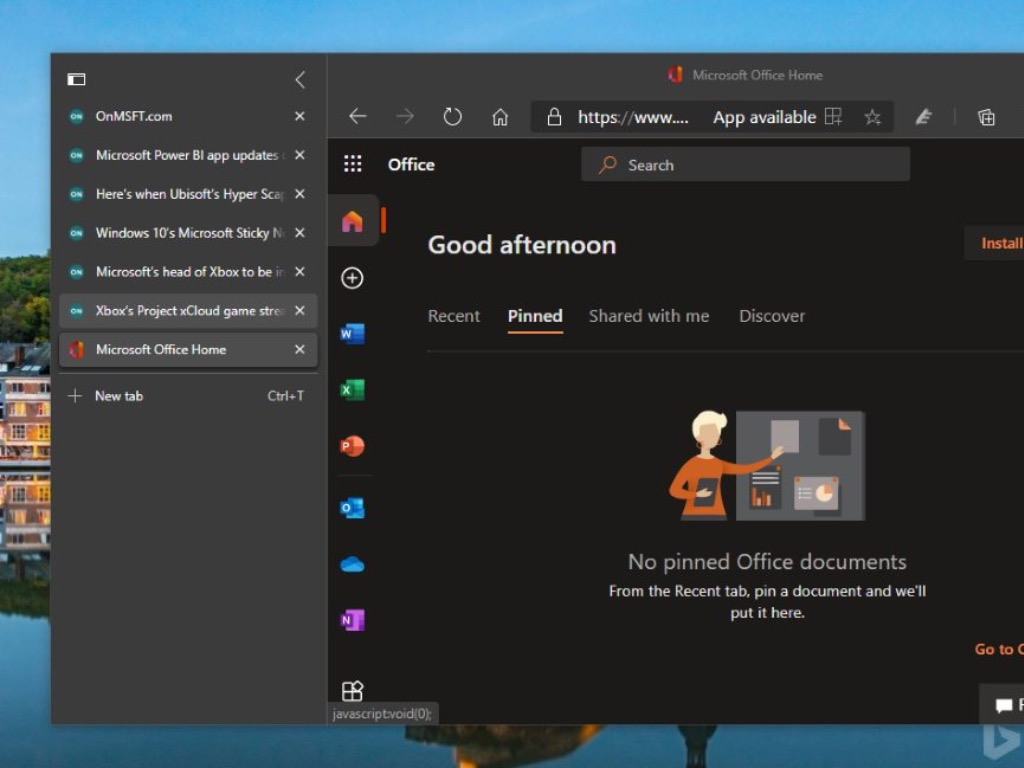 Microsoft Edge gets Vertical Tabs feature you won't find in Chrome