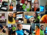 Microsoft Store Associates Working From Home Cropped