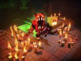 Minecraft dungeons halloween hero screenshot (custom)