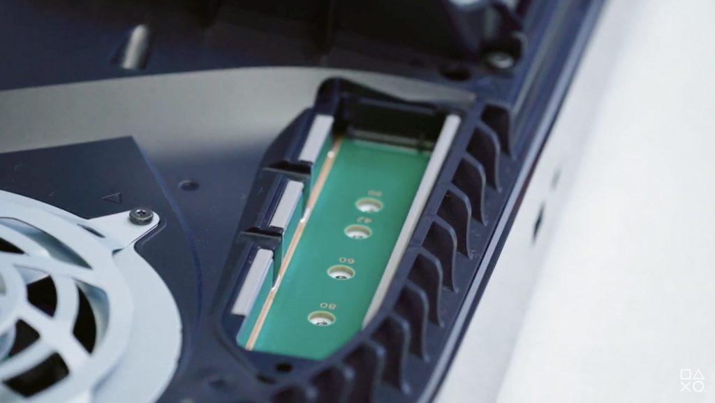 Playstation 5 expandable storage