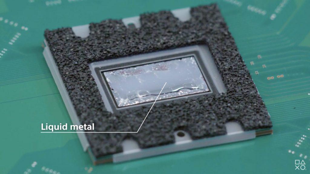 Playstation 5 liquid metal cooling