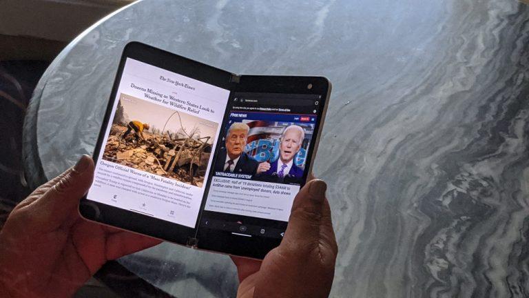 Surface Duo Book Mode