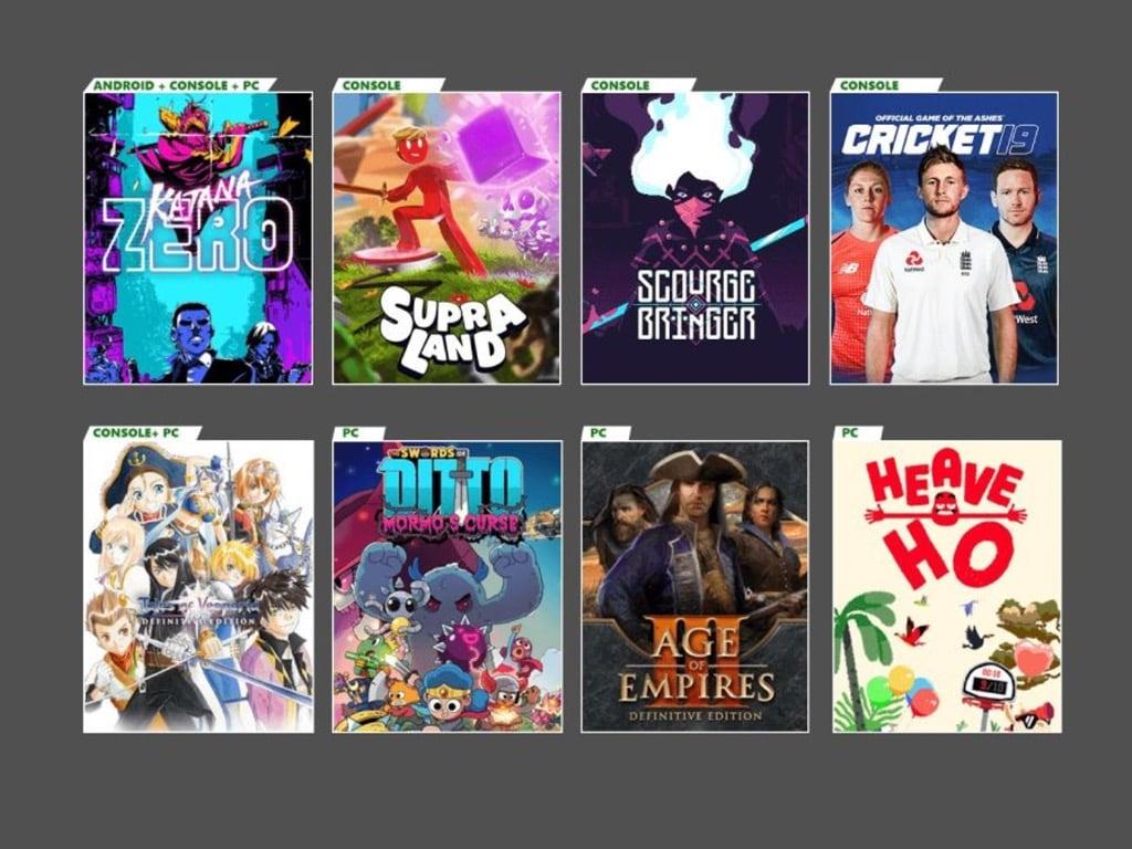 Xbox Game Pass October 2020 Update