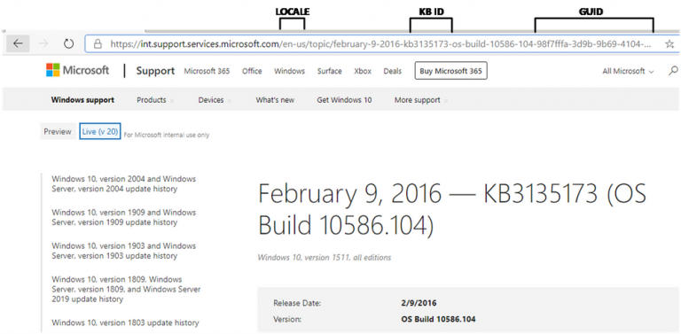 Microsoft Knowledgebase Id Search