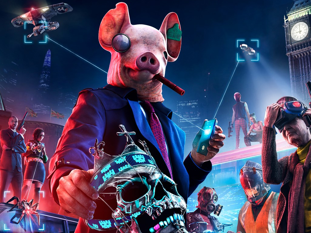 Watch Dogs: Legion video game on Xbox One and Xbox Series X