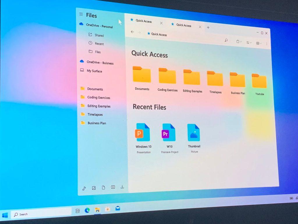 Windows 1o Concept