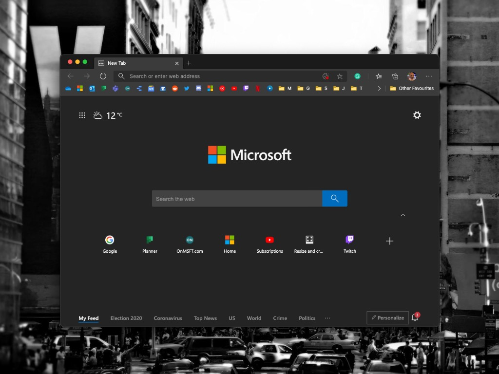 Microsoft Edge On Macos
