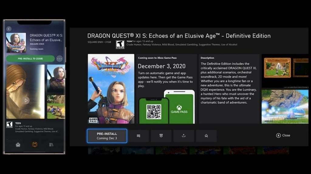 Xbox Game Pass Pre Install Games